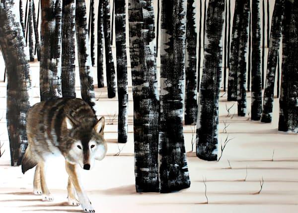 Winter Wolf by Wabimeguil