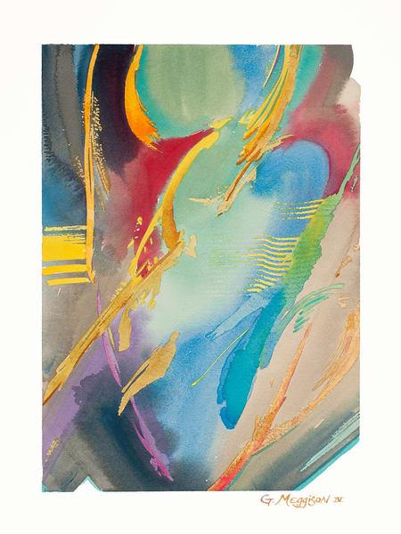 Alive   Abstract Watercolors   Gordon Meggison IV