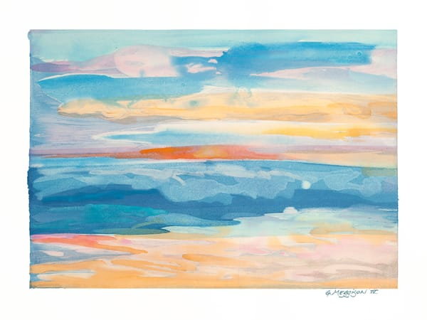Awakening | Contemporary Abstract Watercolors | Gordon Meggison IV
