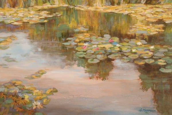 Nod to Monet | Zen Landscapes | Gordon Meggison IV
