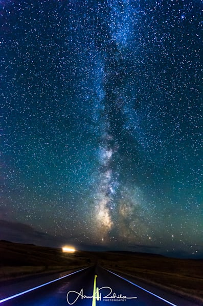 Milky Way road to Heaven