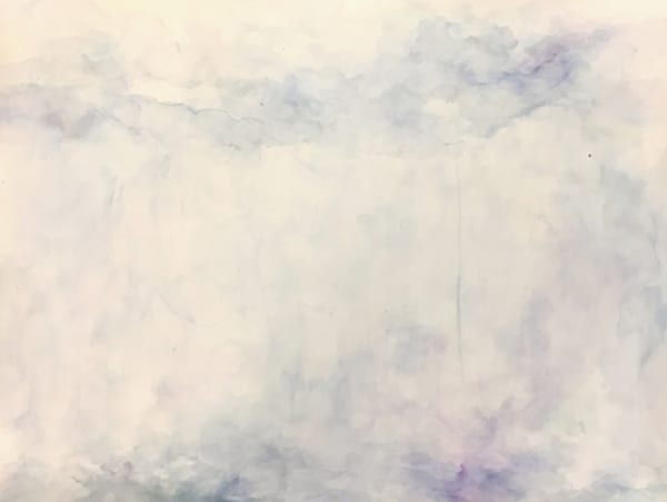 Rainy Days - Contemporary Abstract Landscape Painting | Samantha Kaplan