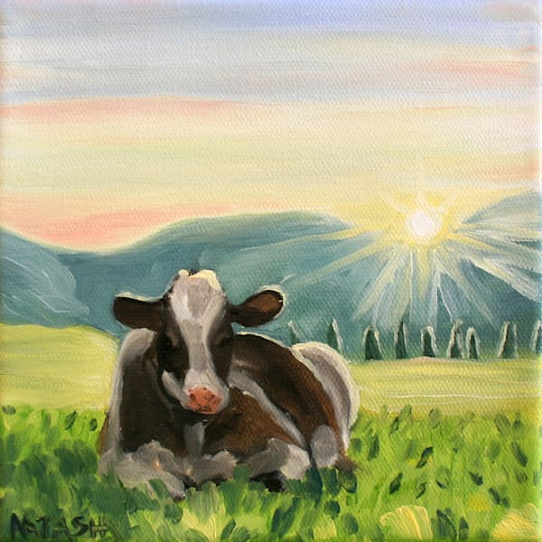 Cow Art for Sale