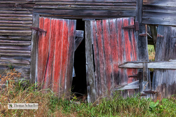 vintage Vermont barn fine art prints by Tom Schoeller photography.