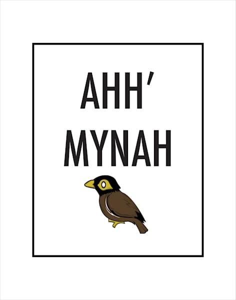 Matted Prints | Mynah