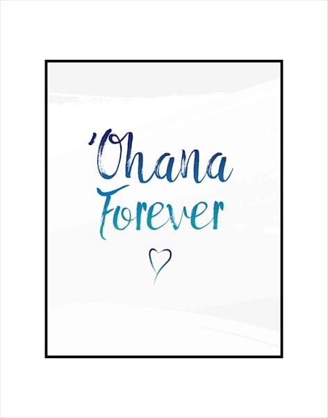 Matted Prints   Ohana Forever