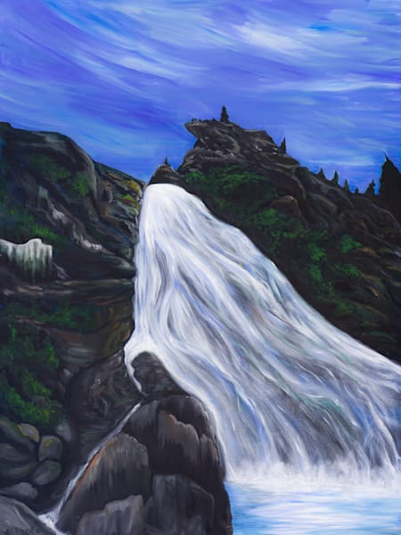 """The Sound Of Your Waterfalls"" by Chelsea Carbonell 