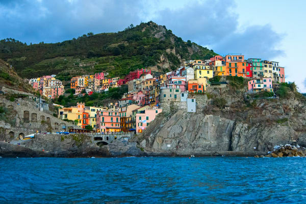 Manarola From The Sea Photography Art | Brad Scott Visuals
