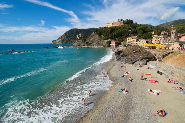 Cinque Terre Beach Day Monterosso Al Mare Print