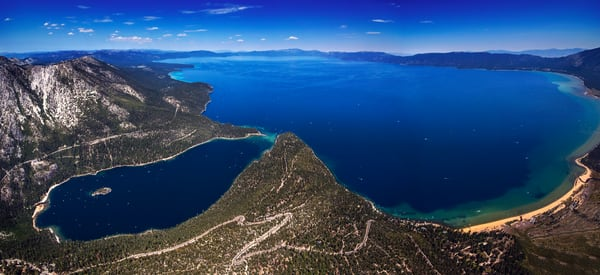 Above Tahoe Fine Art Photograph by Brad Scott