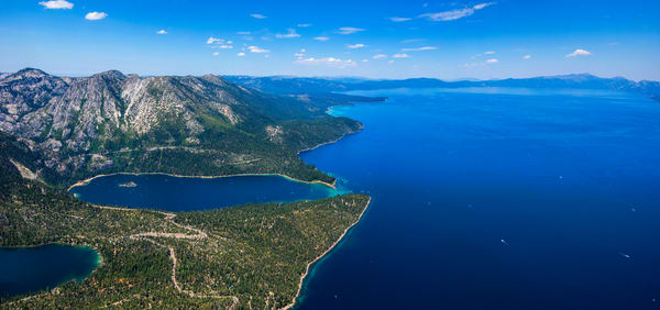 Lake Tahoe aerial photo by Brad Scott