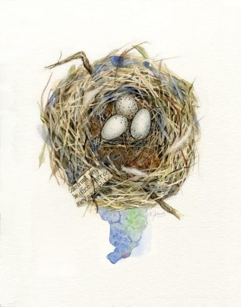 John Miz Nest I by Ernie Francis | SavvyArt Market art print