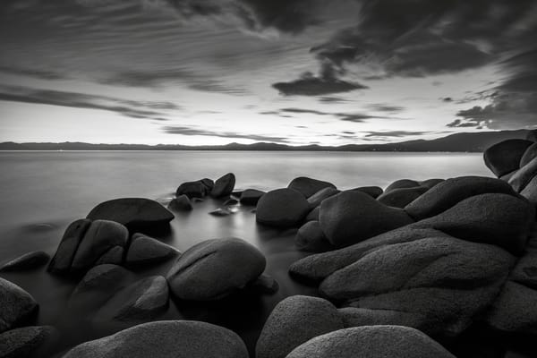 East Shore Serenity Lake Tahoe Print by Brad Scott