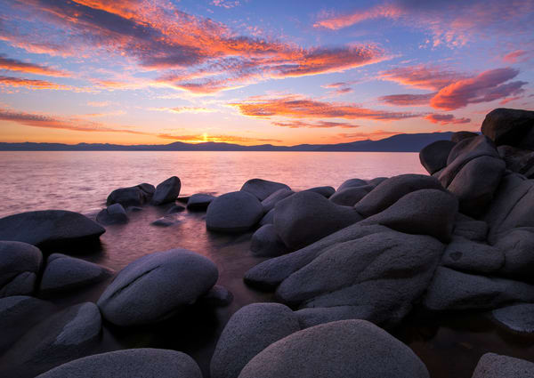 East Shore Bliss Lake Tahoe print by Brad Scott