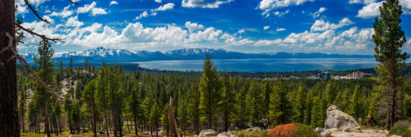 Tahoe Lookout, lake tahoe print by Brad Scott