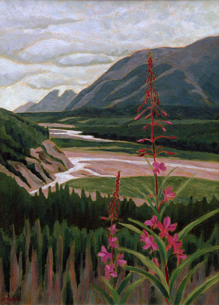 Fireweed View by Sherry Nielsen