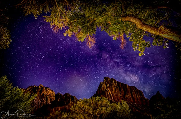 Milky Way at Zion