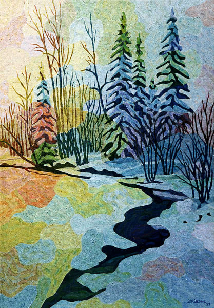Calico Creek - Sherry Nielsen - Canadian Winter