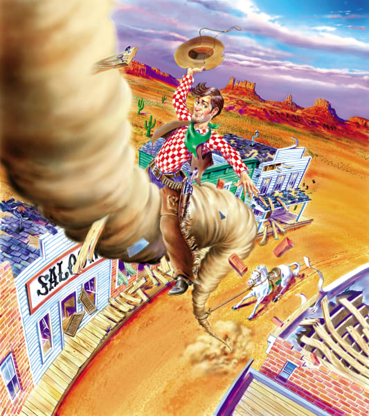 Pecos Bill Rides Again