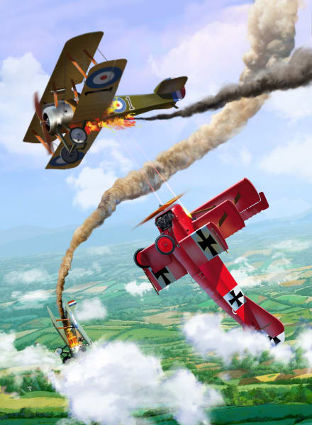 Red Baron Aerial Duel