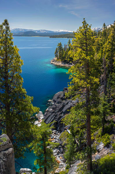 DL Bliss Lookout, Lake Tahoe Print