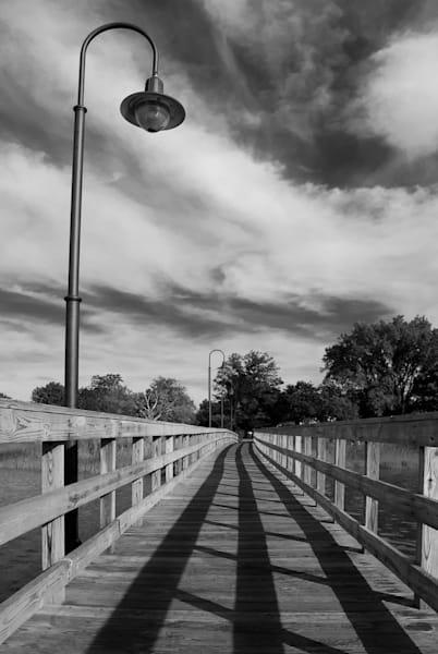 Follow the Lines Limited Edition Signed Fine Art Landscape Photograph by Melissa Fague