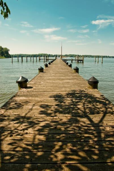 Endless Dock Limited Edition Signed Fine Art Landscape Photograph by Melissa Fague