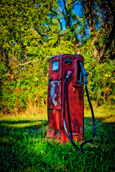 Old Gas Pump Fine Art Photograph | JustBob Images