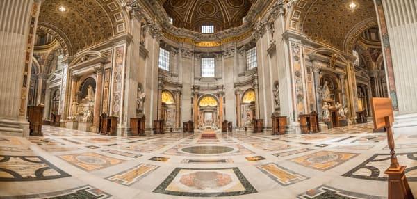 St. Peter's Basilica Panoramic Print