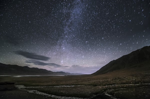 The Silk Way at Night - Photography by Varial