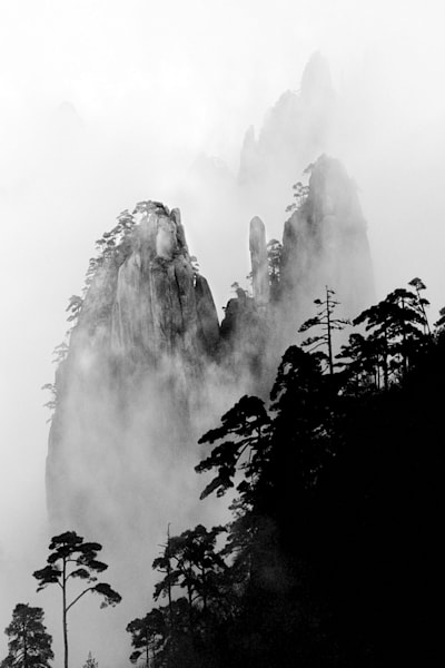 Mountains And Clouds 003 Photography Art | Cheng Yan Studio