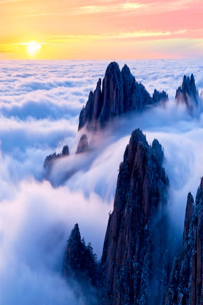 Mountains And Clouds 005 Photography Art | Cheng Yan Studio