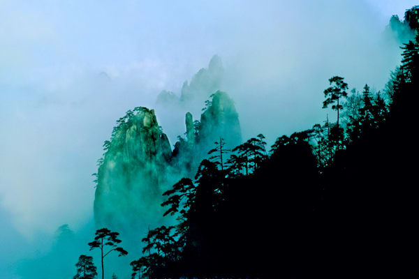 Mountains And Clouds 035 Photography Art | Cheng Yan Studio