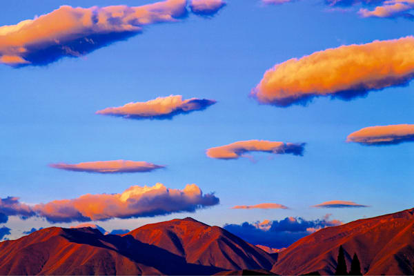 Mountains And Clouds 124 Photography Art | Cheng Yan Studio