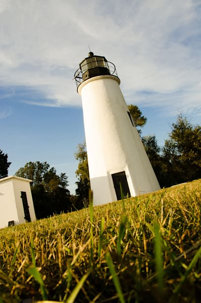 Turkey Point Lighthouse Limited Edition Signed Fine Art Landscape Photograph by Melissa Fague