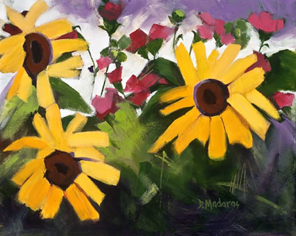 Three Sunflowers | Southwest Art Gallery Tucson | Madaras