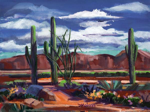 Trail in the Desert | Southwest Art Gallery Tucson | Madaras