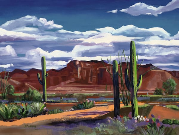Middle of the Desert | Southwest Art Gallery Tucson | Madaras