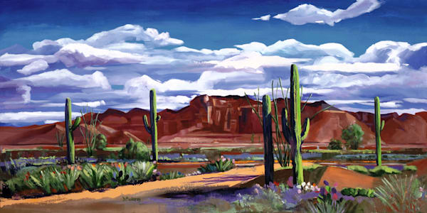 Middle of the Desert | Southwest Art Gallery Tucson