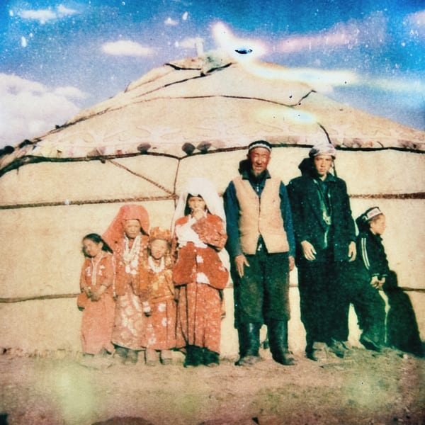 Kyrgyz Family - Photography by Varial