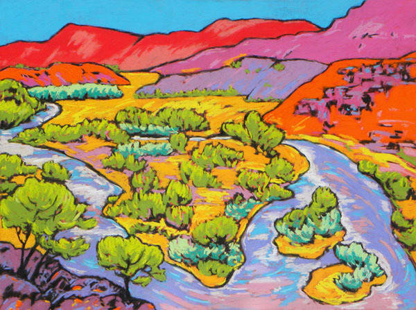 Chama River | Sally C. Evans Fine Art