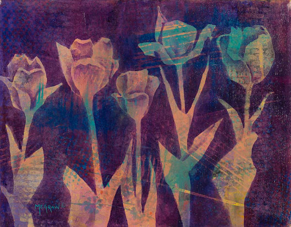 Tulips I by Pat Megraw