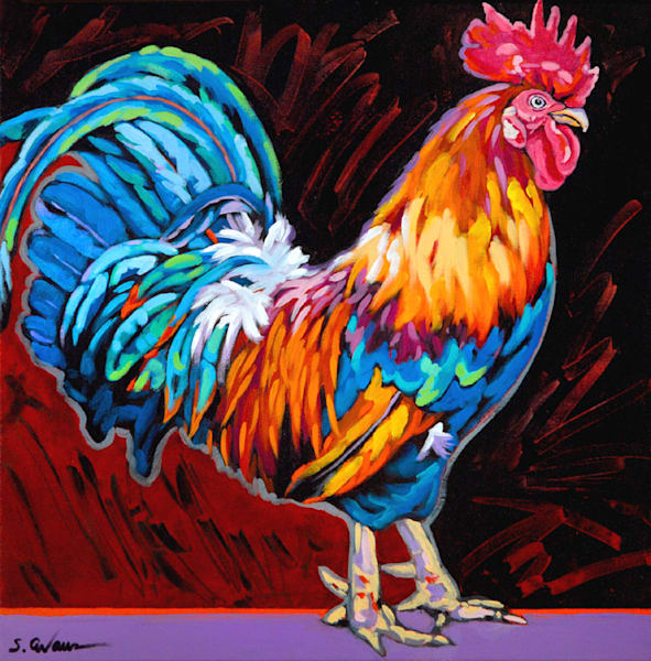 Cocky Art | Sally C. Evans Fine Art