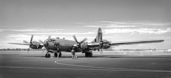 WW2 B-29 Superfortress Panoramic Restored Aircraft fleblanc