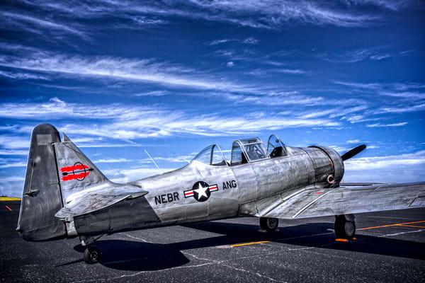 WW2 AT-6/T-6 Texan Trainer Restored Navy Aircraft fleblanc