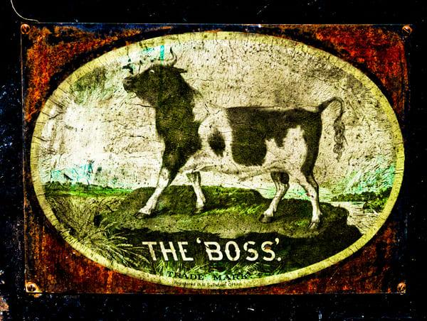 Russell Steam Tractor Logo Boss Decor|Wall Decor fleblanc