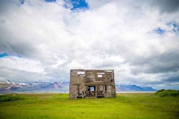 Abandoned House, South Iceland