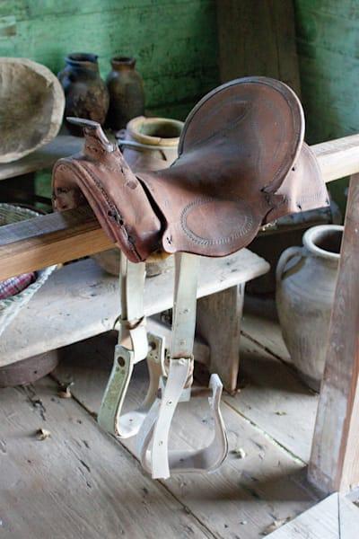 Antique Saddle, Louisiana, USA