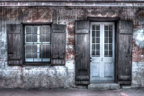 French Quarter House, New Orleans, Louisiana, USA