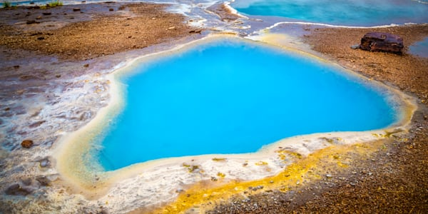 Blue Pool, South Iceland